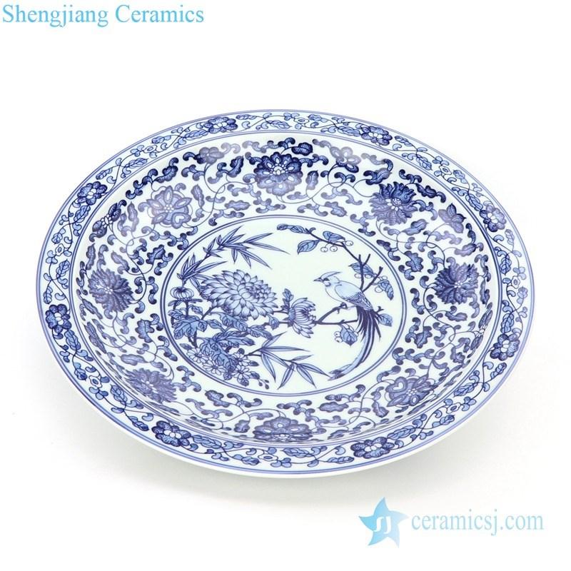 traditional handmade display plate
