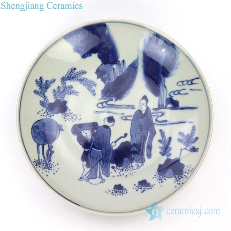 high quality handmade ceramic plate