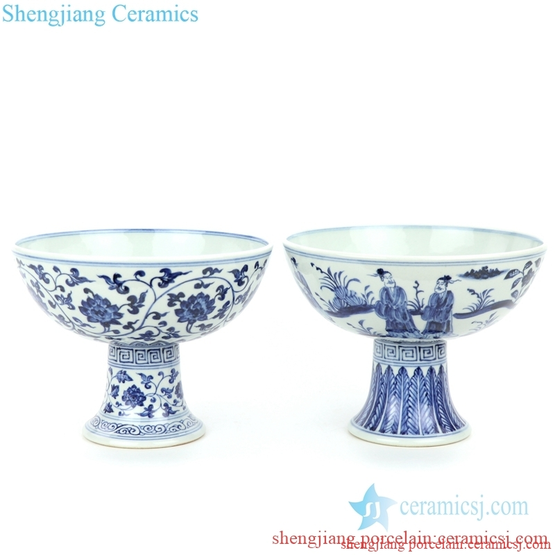 valuable porcelain with beautiful pattern bowl