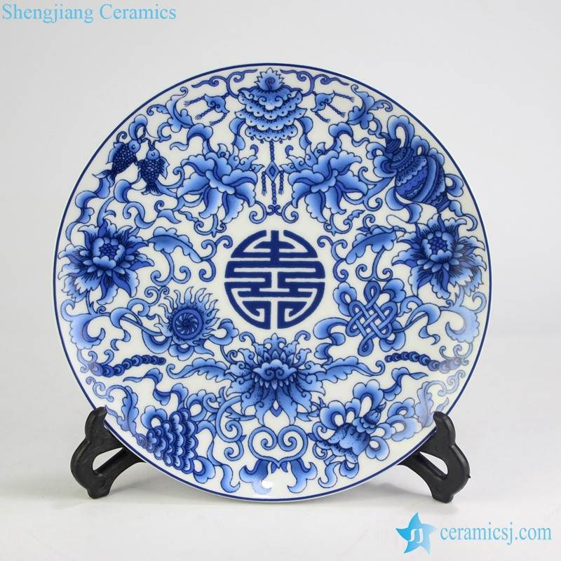 home decor exhibition ceramic plate