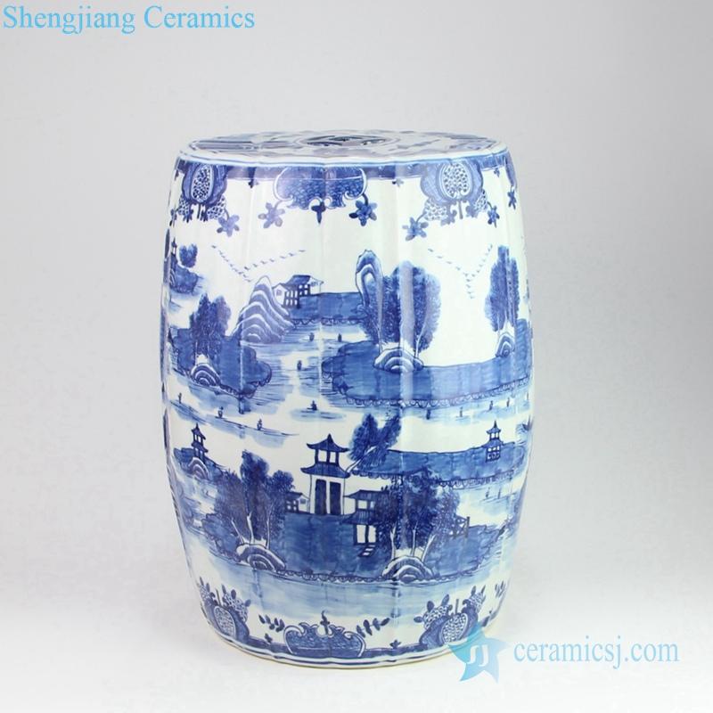 China traditional life pattern ceramic stool