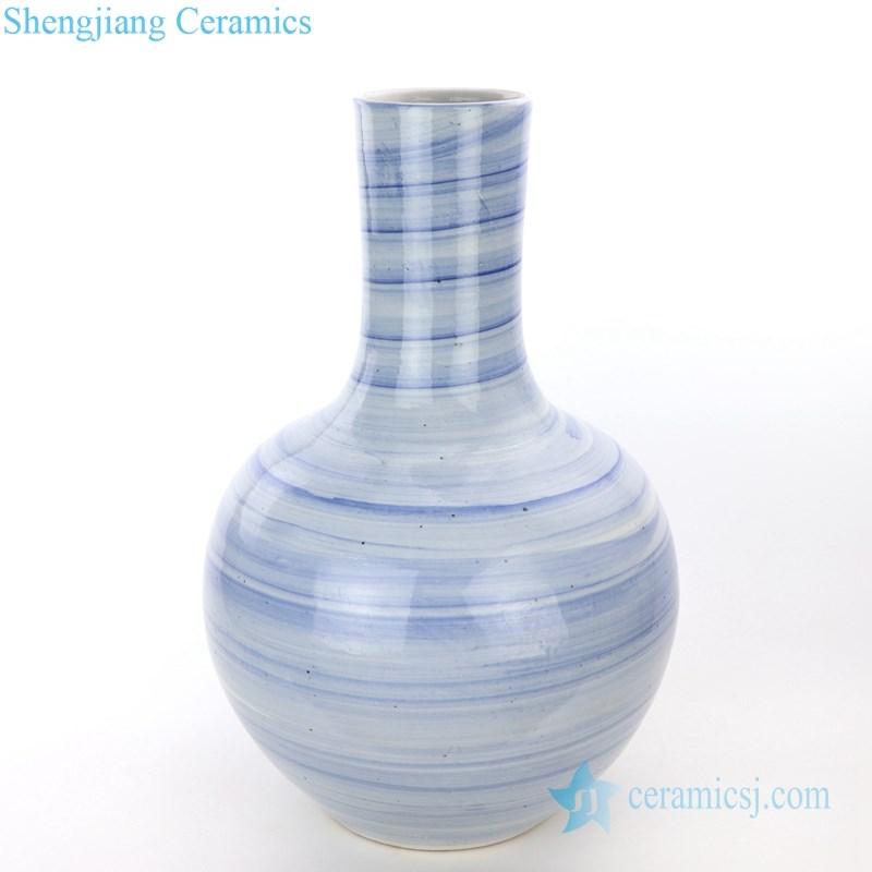 handmade  globular vase