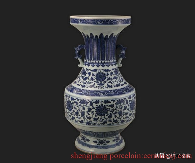 Characteristics of blue and white porcelain in the Qing Emperor Qianlong period