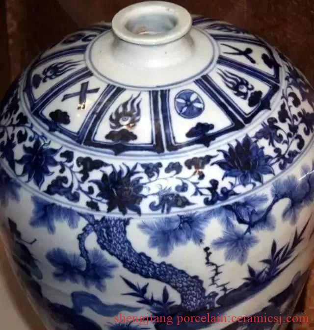 """Valuation of 1 billion blue and white porcelain, why has it only revealed half of the """"face"""" in 40 years?"""