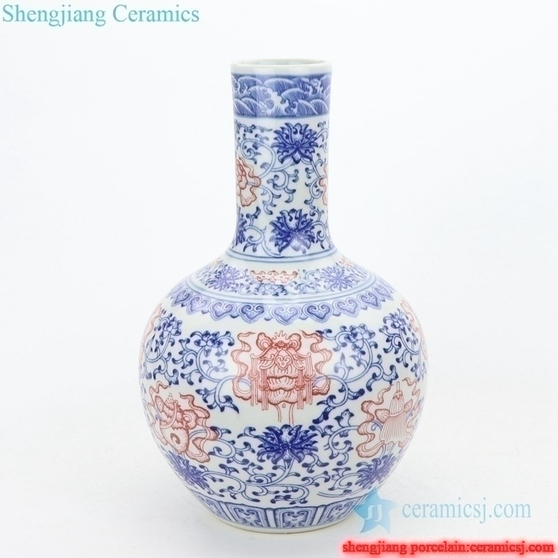handmade high quality  ceramic decorative vase