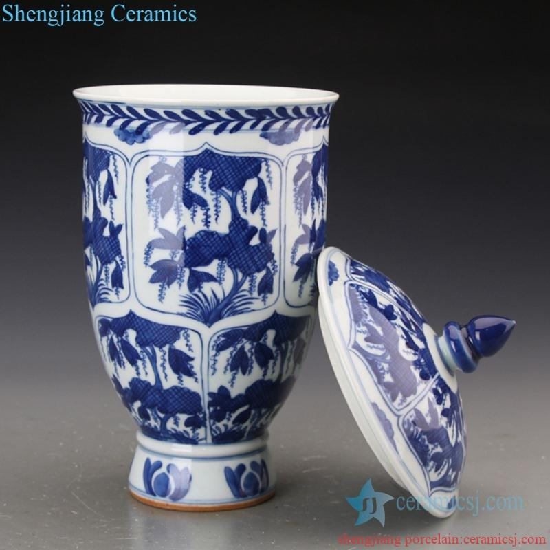 high quality never fade ceramic jar