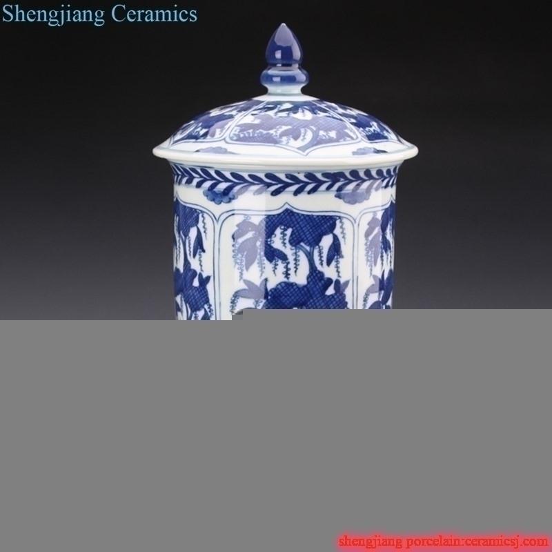 handmade  never fade porcelain  jar