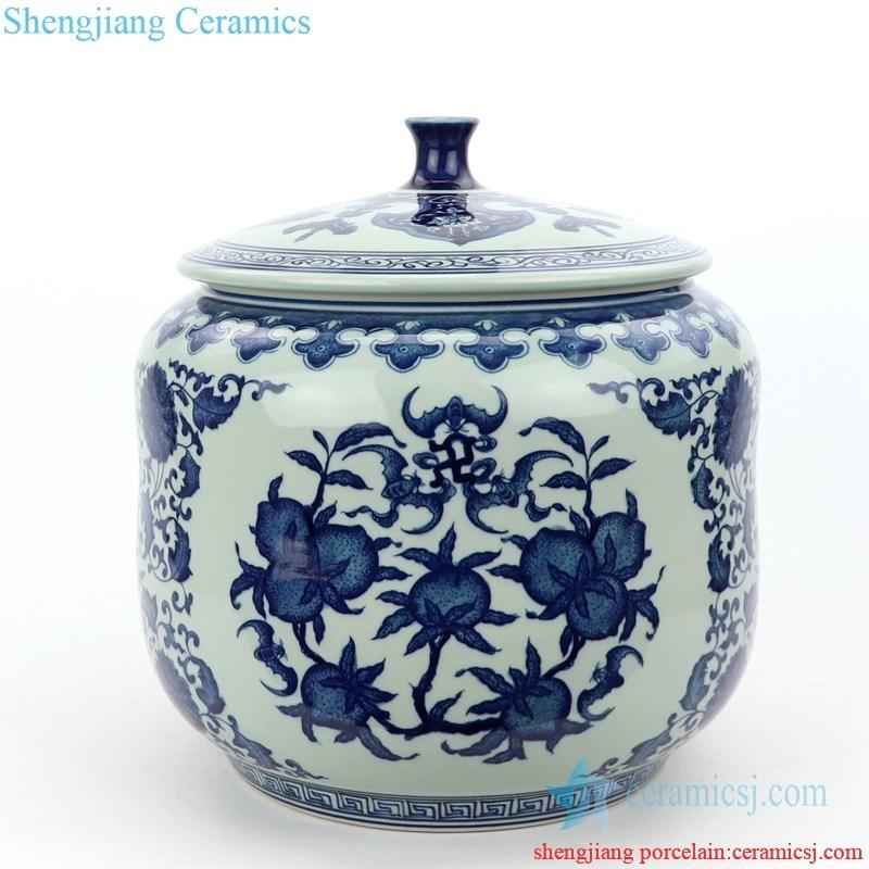 high quality  handmade  ceramic tea jar