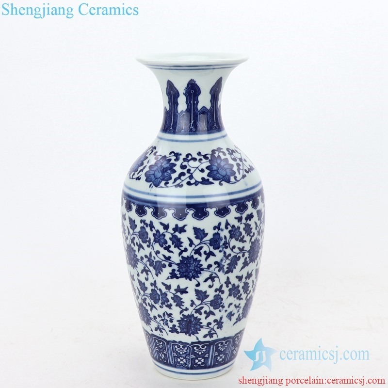hand craft ceramic vase from shengjiang company