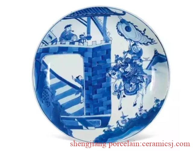 The eight pieces of Kangxi blue and white story porcelain collected in the Forbidden City are exquisite in porcelain, and the pieces are called art treasures.